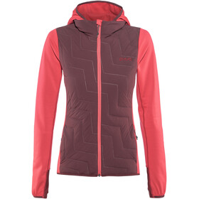 PYUA Blaze Hooded Jacket Women barberry pink-burgundy